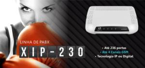 Recursos Central PABX IP XIP 230 Digistar
