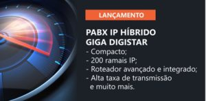 CENTRAL DE PAPX IP HIBRIDO GIGA DIGISTAR